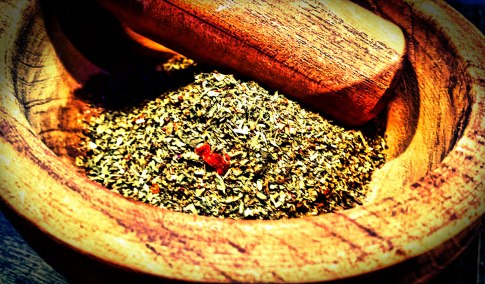 Merchant Spice Co.'s Pizza Seasoning from the Blends of the Americas Collection ~ the perfect topping for pizza!