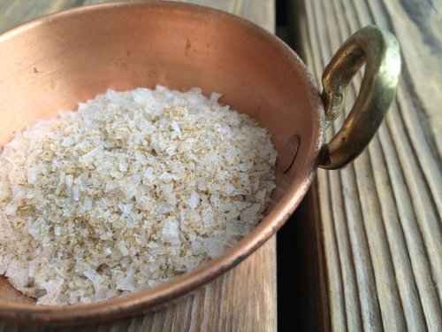 Roasted Cumin Salt from the Seasoned Sea Salt Collection by Merchant Spice Co.