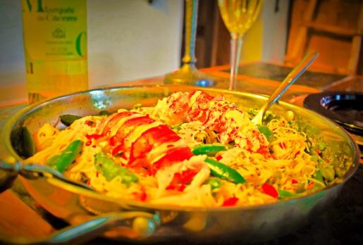 Dinner served family style