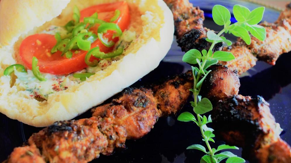 Souvlaki, a classic Greek dish